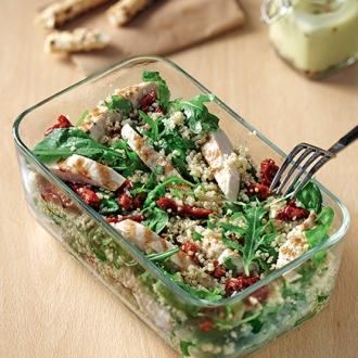 Σαλάτα με πρασινάδες