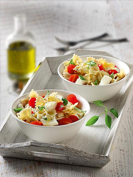 Μεσογειακή σαλάτα ζυμαρικών #allazoumesinithies | ΑΒ Βασιλόπουλος