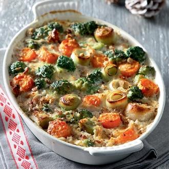 Γκρατέν με τα λαχανικά που περίσσεψαν #allazoumesinithies | ΑΒ Βασιλόπουλος