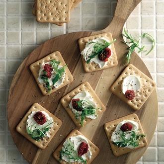 Σνακ µε cream crackers