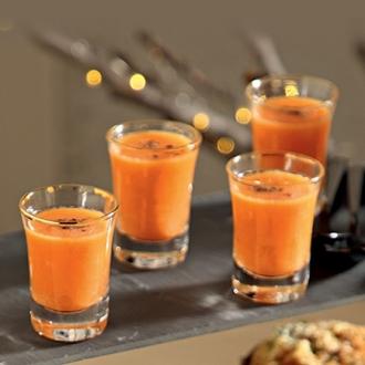 Σφηνάκια με σούπα από γλυκοπατάτα και άρωμα κανέλας #allazoumesinithies | ΑΒ Βασιλόπουλος